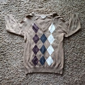 Michael Kors- Argyle Sweater